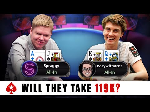 SPRAGGY and FINTAN HAND made it to the final 11 ♠️ Stadium Series 2020 - Final tables ♠️ PokerStars