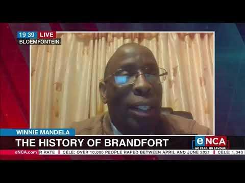Winne Mandela   The history of Brandfort