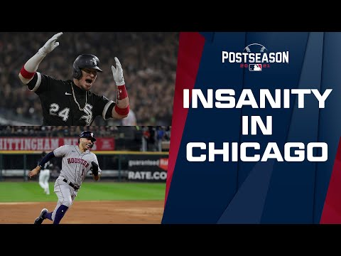 FIVE LEAD CHANGES/TIES IN FOUR INNINGS! White Sox and Astros go back-and-forth in INSANE sequence!