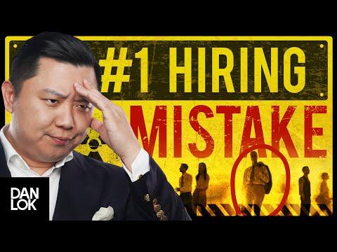 The #1 Mistake Entrepreneurs Make When Hiring