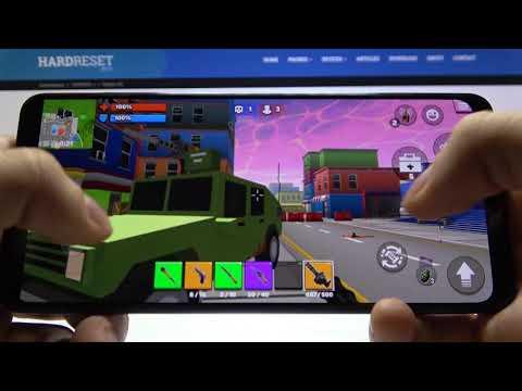 Game Performance Test on Samsung Galaxy A31 - Pixel's Unknown Battle Ground