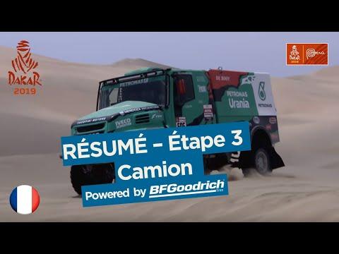 Résumé - Camion - Étape 3 (San Juan de Marcona / Arequipa) - Dakar 2019