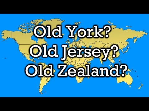Where Are Old York, Zealand, and Hamsphire?