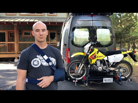 Emergency on the Road: Motorcycle Accident   Van Life S2:E23