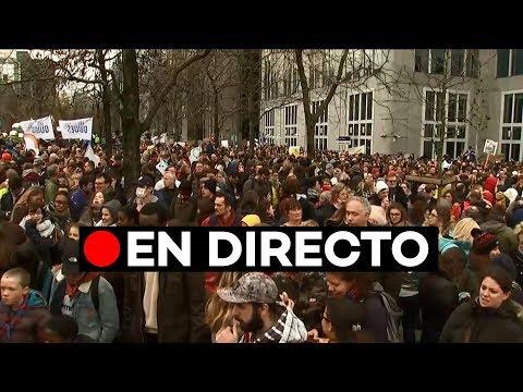 🔴 EN DIRECTO Manifestación en Bruselas por la cumbre del clima
