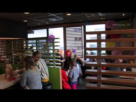 Wielkie otwarcie McDonald's w Pruszczu Gdańskim