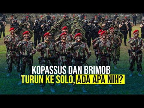 Kopassus dan Brimob Turun ke Solo, Ada Apa Nih?