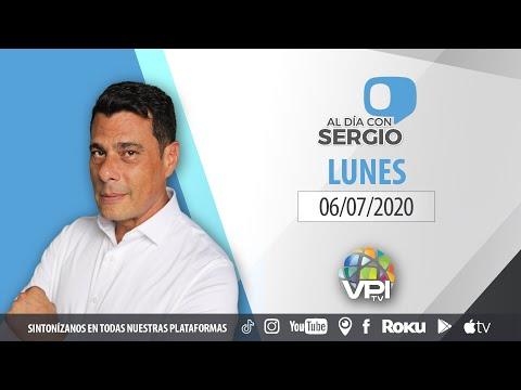 EN VIVO - Al Día con Sergio Novelli - Lunes 6 de Julio