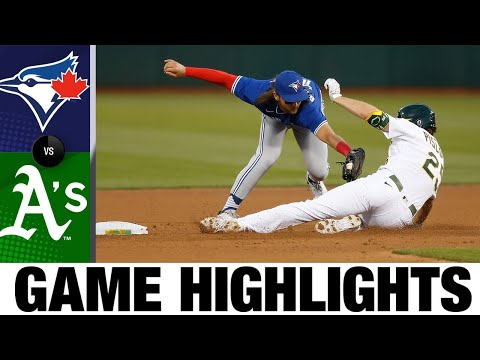Blue Jays vs. A's Game Highlights (5/3/21) | MLB Highlights