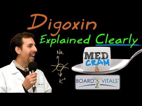 Digoxin Explained Clearly - A BoardVitals Question Answered by MedCram.com