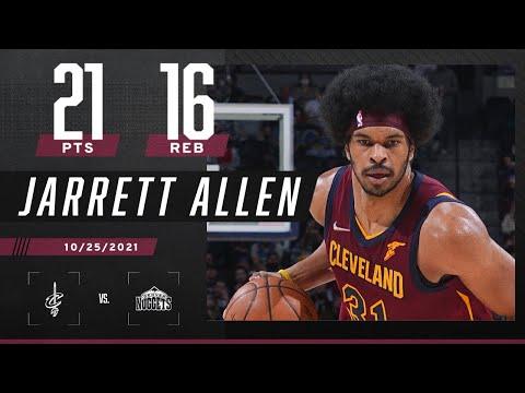 Jarrett Allen DON'T MISS! 💦 Splashes 21 PTS &…
