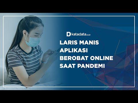 Laris Manis Aplikasi Berobat Online saat Pandemi | Katadata Indonesia