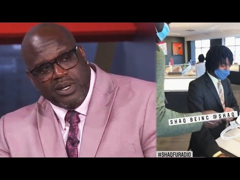 Watch Shaq Pay for a TOTAL STRANGER'S Engagement Ring