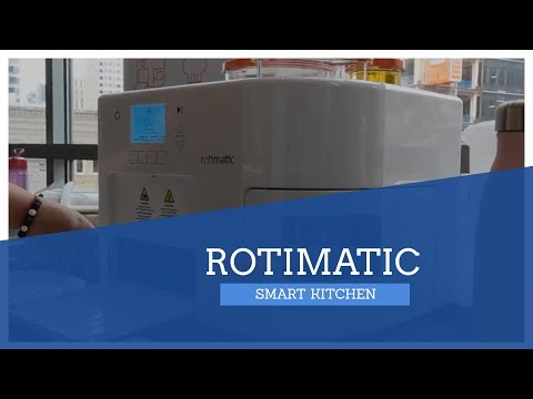 Rotimatic is a roti-making robot