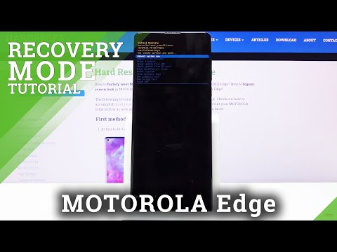 How to Get Accesss to Recovery Mode on Motorola Edge – Open & Quit Recovery Mode