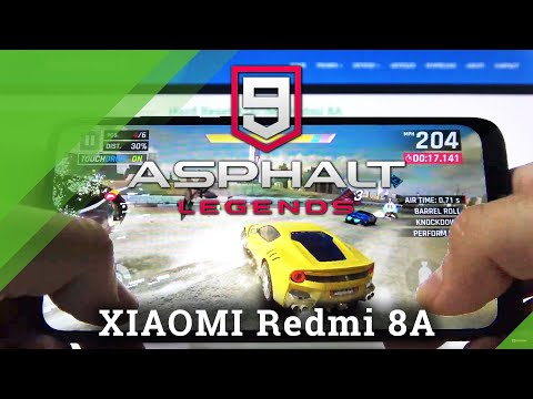 Asphalt 9 Game TestXiaomi Redmi 8A – Racing Game Performance Checkup