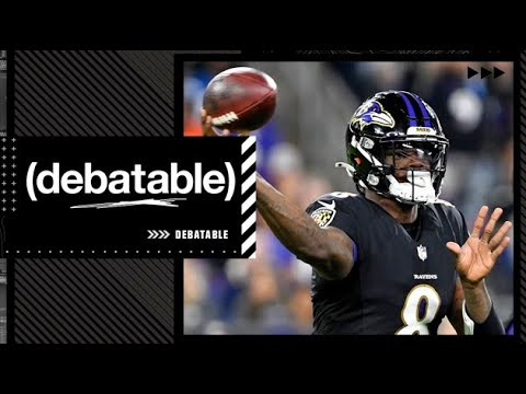 Reacting to Lamar Jackson leading the Ravens to an epic comeback win over the Colts | (debatable)