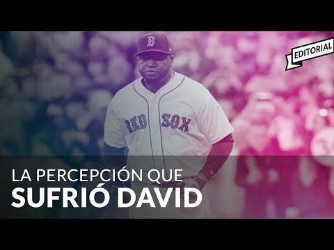 La Percepción Que Sufrió #DAVIDORTIZ #BIGPAPI #Editorial - #Antinoti Junio 12 2019
