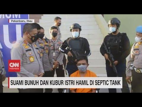 Suami Bunuh & Kubur Istri Hamil di Septic Tank