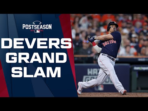 2 INNINGS, 2 GRAND SLAMS! Rafael Devers hits the Red Sox second slam of the game!
