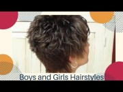 style trendy haircut