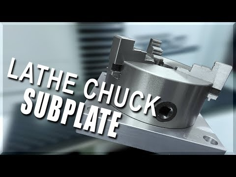 Making a Lathe Chuck Subplate | WW222