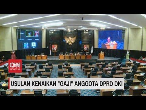 Usulan Kenaikan 'Gaji' Anggota DPRD DKI