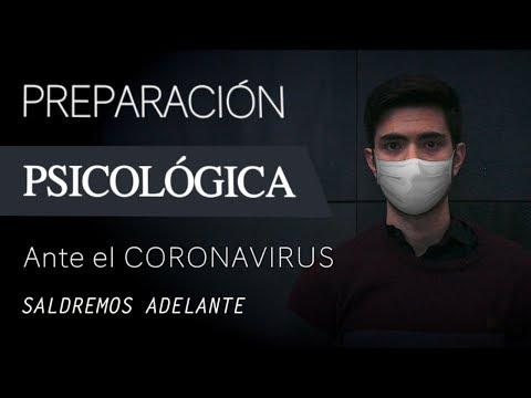 CORONAVIRUS: Preparación PSICOLÓGICA para la CUARENTENA y la CRISIS por la EPIDEMIA (#QuédateEnCasa)