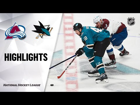 Avalanche @ Sharks 5/3/21 | NHL Highlights