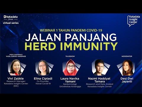 Katadata Forum Virtual Series: Jalan Panjang Herd Immunity