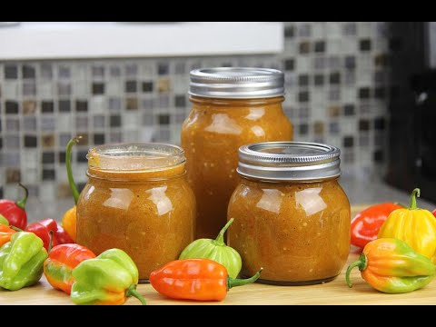 Simple Fiery Caribbean Peppersauce | CaribbeanPot.com