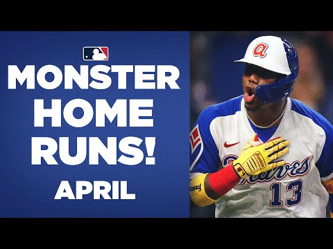 MONSTER Home Runs from April! (Longest HRs from the month!)
