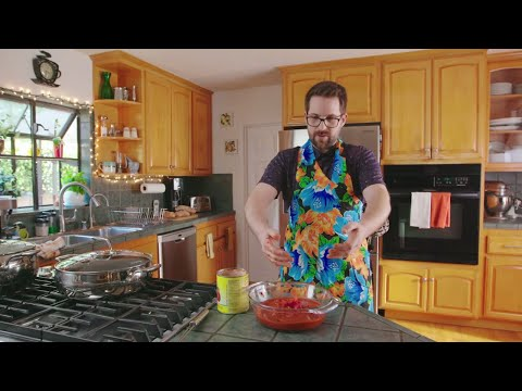 Getting Schooled on Pasta Puttanesca | Sunday at Nana's