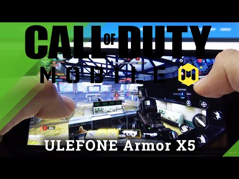 Call of Duty Gameplay on Ulefone Armor x5 – CoD Performance Test