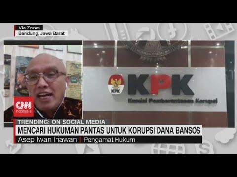 Tilap Dana Bansos, Apa Hukuman yang Pantas?