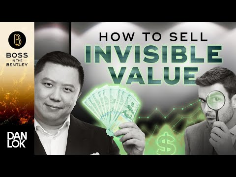 Selling The Invisible Value : How To Sell Services