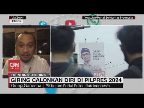 Giring Calonkan Diri di Pilpres 2024