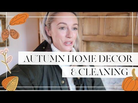 🍂 AUTUMN // FALL HOME DECOR  🍂 & CLEAN WITH ME  🎃//  Fashion Mumblr Vlogs