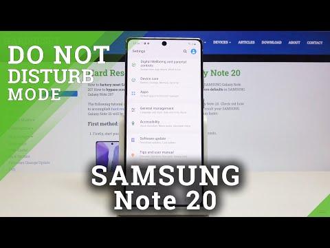 Developer Options SAMSUNG Galaxy Note 20