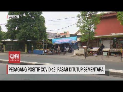 Pasar Becek Pondok Labu Menambah Panjang Daftar Pasar yang Harus Ditutup Sementara Akibat Covid-19