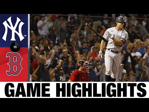 Yankees vs. Red Sox Game Highlights (9/25/21)   MLB Highlights