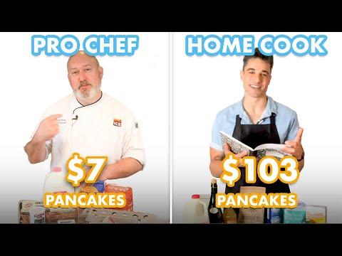 $103 vs $7 Pancakes: Pro Chef & Home Cook Swap Ingredients | Epicurious