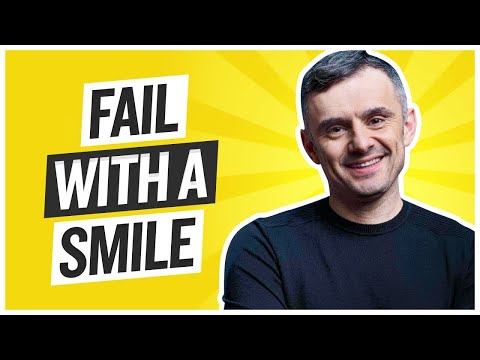 The Best Way to React to Your Failures Is With a Smile | Tea With GaryVee