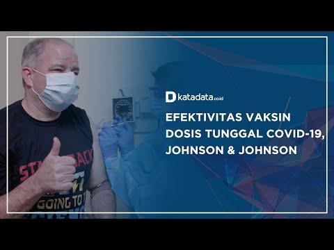 Efektivitas Vaksin Dosis Tunggal Covid-19, Johnson & Johnson   Katadata Indonesia