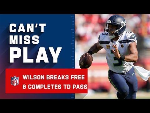 Russell Wilson Watched Bo Nix Last Night Clearly