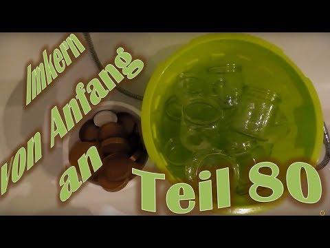 Imkern von Anfang an - Teil 80 - Benutzte Honiggläser reinigen