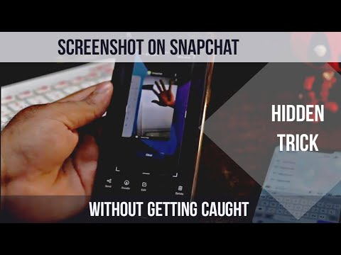 How to take Screenshot in Snap chat Without Getting Caught in Any Android device