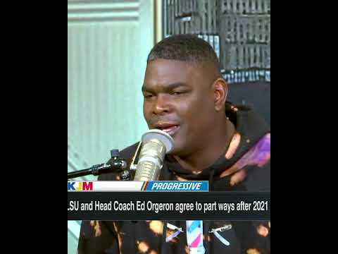 Keyshawn reacts to Ed Orgeron agreeing to part ways with LSU: 'It's time to move on'   #Shorts