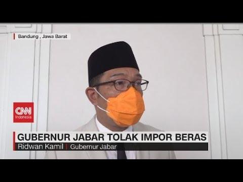 Gubernur Jabar RK Tolak Impor Beras