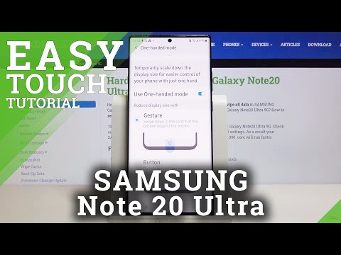 How to Activate One Handed Mode in SAMSUNG Galaxy Note 20 Ultra – Make Screen Smaller
